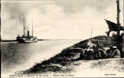 Steamer in the Canal
