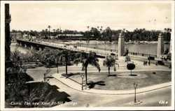 The new Kasr, El Nil Bridge
