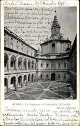 La Sapienza o Universita, Il Cortile