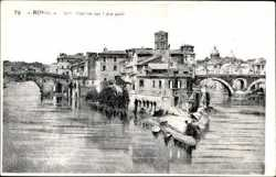 Isola Tiberina con i due ponti