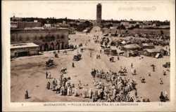 Place Djemaa El Fna, La Koutoubia