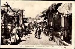 Une rue du Mellah