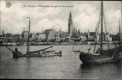 Panorama du port, La rade