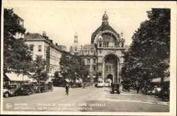 Avenue de Keyser, Gare Centrale