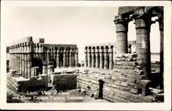 Open and Close Capitals Papyrus Columns