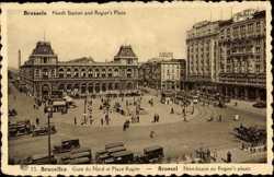 Gare du Nord et Place Rogier