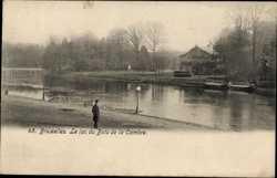 Le lac du Bois de la Cambre