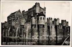 Chateau des Comtes vu du Petit Gewad