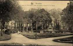 Square du Petit Sablon des Comtes d'Egmont et de Hornes