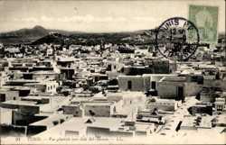 Vue generale vers Sidi Bel Hassen