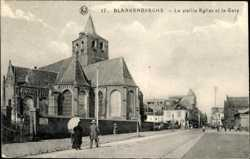 La vieille Eglise et la Gare