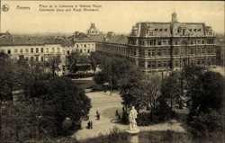 Place de la Commune et Athenee Royal