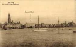 View of River Scheldt, Queens Hotel
