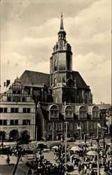 Markt, Wenzelskirche