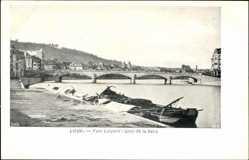 Pont Leopold, Quai de la Batte